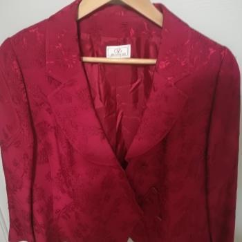 Traje chaqueta mujer 3 piezas