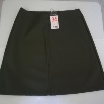 Mini falda polipiel