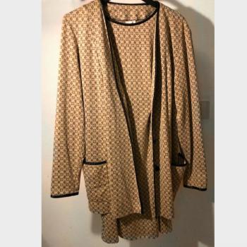 Vestido y chaqueta vintage