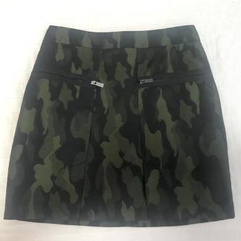 Mini falda camuflaje