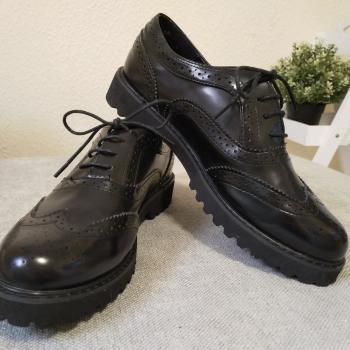 Zapatos Oxford de piel
