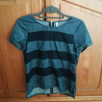 Camiseta tela vaquera