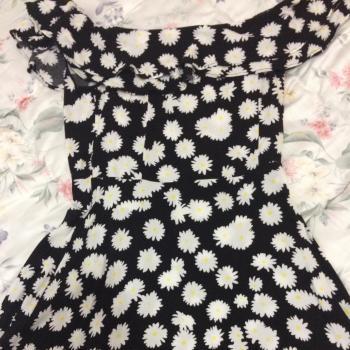 vestido corto margaritas