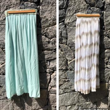 2 faldas