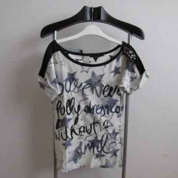 Camiseta hombrera