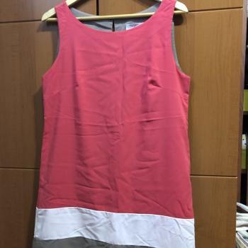 Vestido mini rosa