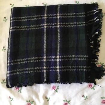 Bufanda lana cuadros