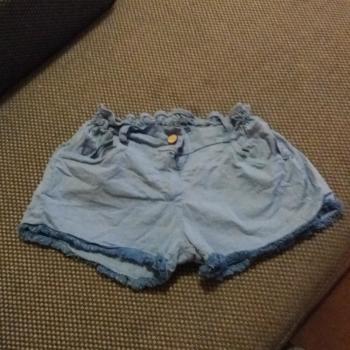 Pantalon corto azul