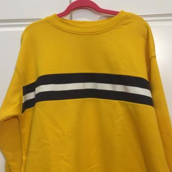 Jercey Amarillo de rayas