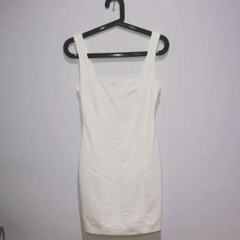 Vestido ajustado blanco