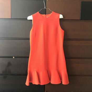 Vestido mini Victoria Beckham 100% lana