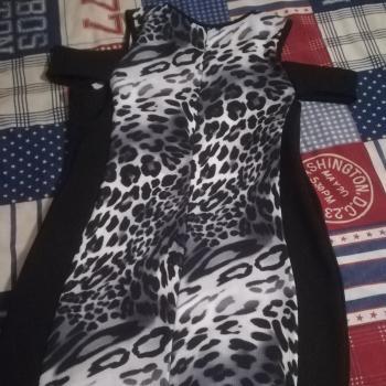 Vestido Mujer de gueopardo