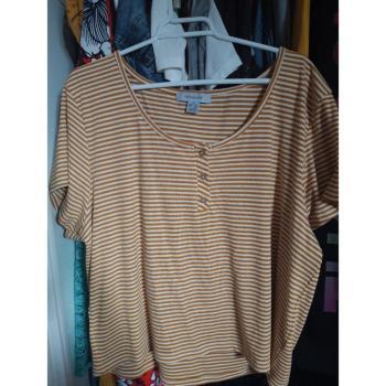 Camiseta a rayas 2XL