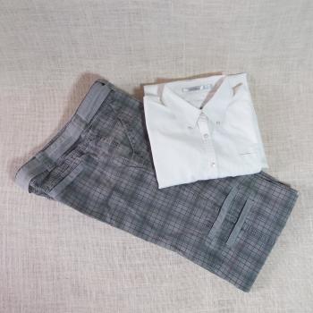 06 Conjunto mujer camisa y pantalón.
