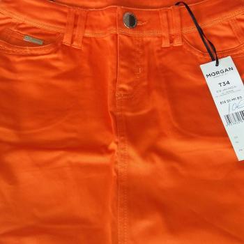 Minifalda naranja morgan