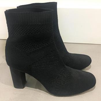 botines negro zara invierno 2018