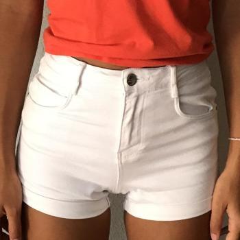 Pantalon corto blanco de Zara talla 32