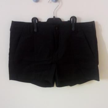 Shorts negros Bershka