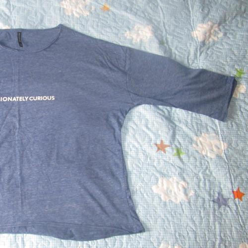 Camiseta media manga