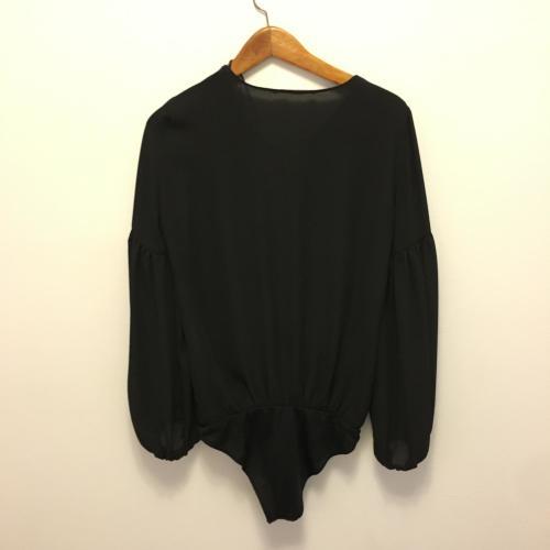 Blusa body negro