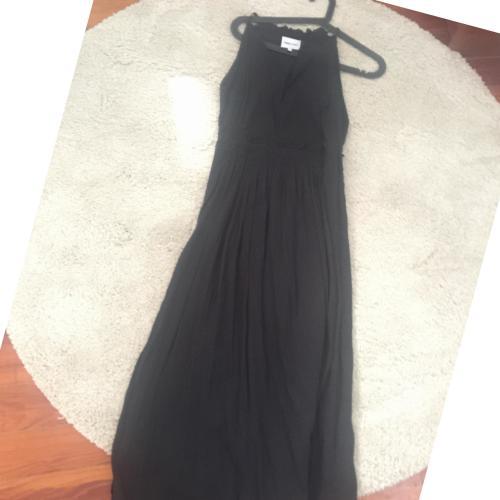 Vestido Corte Romano Negro