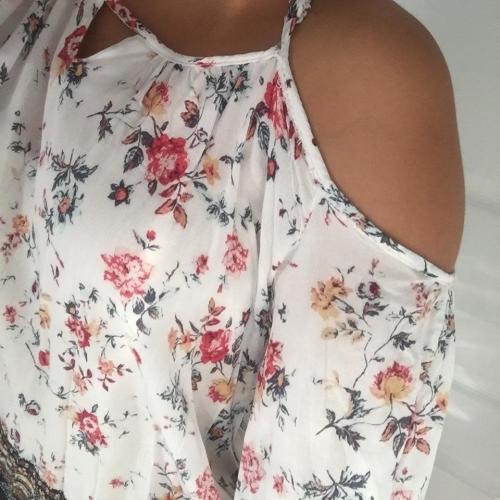 blusa sin hombros
