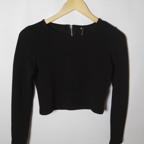 Camisa crop top