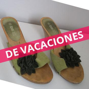 Zapatos suela de Madera