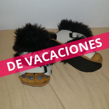 Zapatillas pelitos