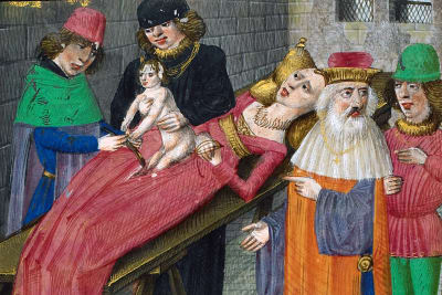 14th Century Surgery - © Attention Deficit Disorder Prosthetic Memory Program