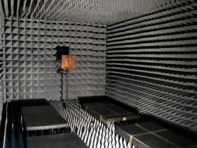 Anechoic Chamber - © Attention Deficit Disorder Prosthetic Memory Program