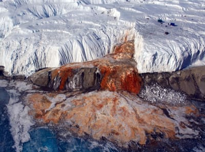 Antarctica Blood Falls - © Attention Deficit Disorder Prosthetic Memory Program