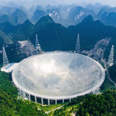 Five-Hundred-Meter Aperture Spherical Telescope - © Attention Deficit Disorder Prosthetic Memory Program