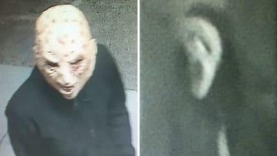 Armed Robbery Masks - © Attention Deficit Disorder Prosthetic Memory Program