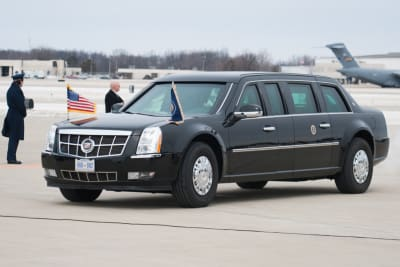Armoured Presidential Limousine - © Attention Deficit Disorder Prosthetic Memory Program