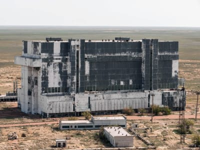 Baikonur Cosmodrome - © Attention Deficit Disorder Prosthetic Memory Program