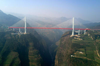 Beipanjiang Bridge - © Attention Deficit Disorder Prosthetic Memory Program