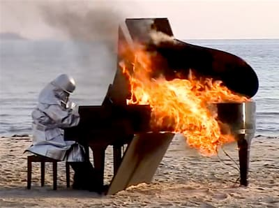 Burning Piano - © Attention Deficit Disorder Prosthetic Memory Program