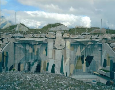 Camouflaged Swiss Bunkers - © Attention Deficit Disorder Prosthetic Memory Program