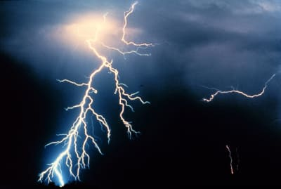 Catatumbo Lightning - © Attention Deficit Disorder Prosthetic Memory Program