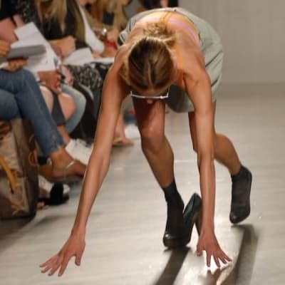 Catwalk Fails - © Attention Deficit Disorder Prosthetic Memory Program