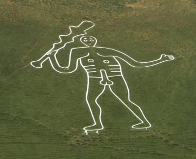 Cerne Abbas Giant - © Attention Deficit Disorder Prosthetic Memory Program