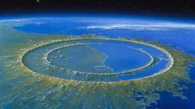 Chicxulub Crater - © Attention Deficit Disorder Prosthetic Memory Program