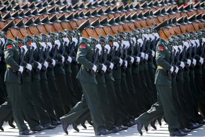 Chinese military parades - © Attention Deficit Disorder Prosthetic Memory Program