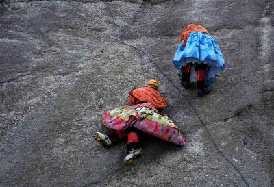 Cholita Climbers - © Attention Deficit Disorder Prosthetic Memory Program