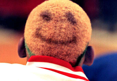 Dennis Rodman's Hairstyles - © Attention Deficit Disorder Prosthetic Memory Program
