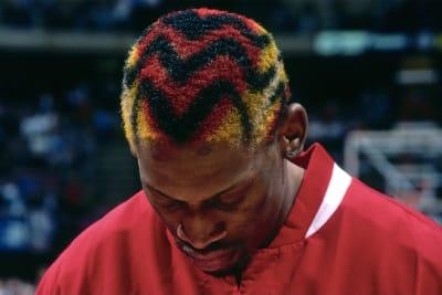 Dennis Rodman Hairstyles - © Attention Deficit Disorder Prosthetic Memory Program