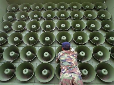 Propaganda Loudspeakers - © Attention Deficit Disorder Prosthetic Memory Program