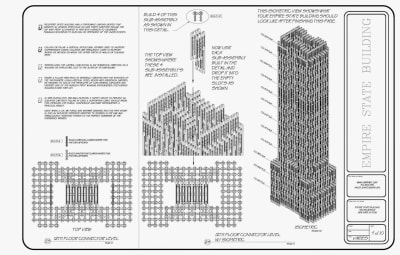Empire State Building - © Attention Deficit Disorder Prosthetic Memory Program