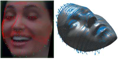 Facial Recognition System - © Attention Deficit Disorder Prosthetic Memory Program